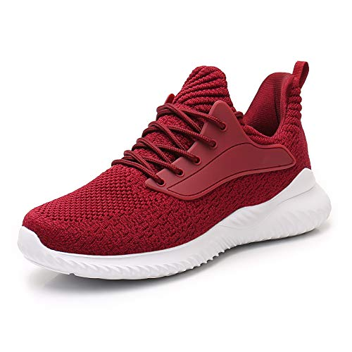 AKK Womens Athletic Walking Shoes - Slip On Memory Foam Lightweight Work Casual Tennis Running Shoes Sneakers for Indoor Outdoor Gym Travel