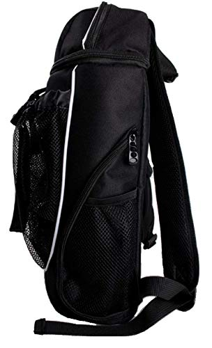Hard Work Sports Basketball Backpack, Soccer Bag with Ball Compartment Unisex One Size by Hard Work Sports (Image #3)