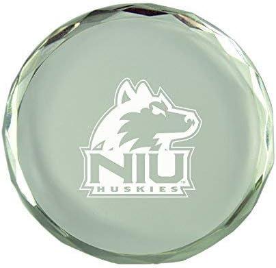 Northern Illinois University-Crystal Paper Weight