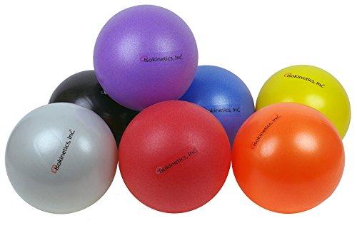 """Isokinetics Inc. Brand Mini Exercise Ball - 25cm (7"""" to 9"""") - Orange"""