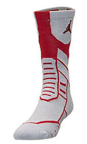 Jordan Jumpman Flight Crew Socks - 642210 0012-Medium (6-8)