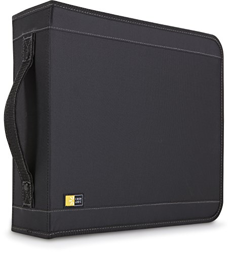Nylon Cd Logic Case 208 (Case Logic 208 Capacity CD Wallet (Black))