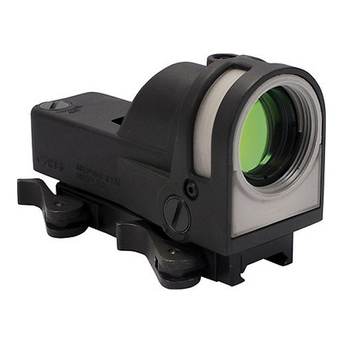 Meprolight M21B Self-Powered Day/Night Reflex Sight with Dust Cover - Bullseye