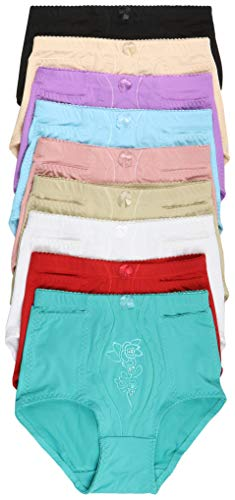 ToBeInStyle Women's 6-Pack Highwaisted Side Pocket Girdle - Assorted - 3XL