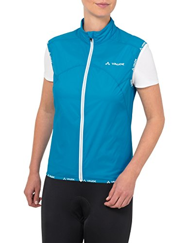 VAUDE Women 's Air Vest II – Chaleco para mujer Turquesa - Spring Blue