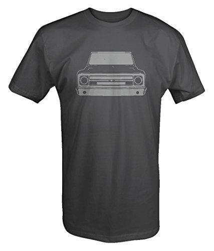 - Stealth - 1967-72 Chevy GMC Classic Lowered Pickup Truck C10 C20 Cheyenne T shirt - 3XL