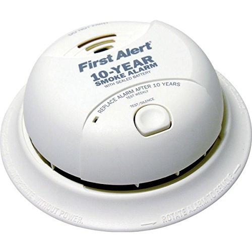 - First Alert SA350B Smoke Alarm - Dual Ionization Sensor - Detects Flaming Fires - Battery Operated - Sealed Lithium Battery by BRK
