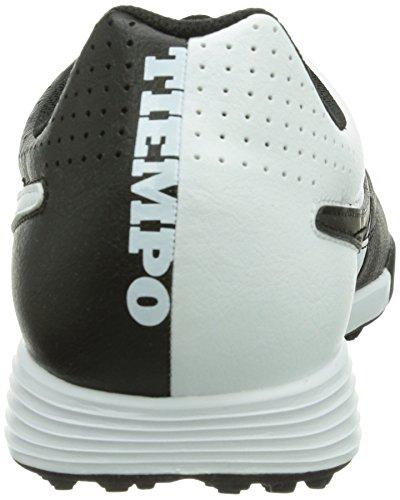 Nike TIEMPO TF LEATHER GENIO Black r7q1rzwnx