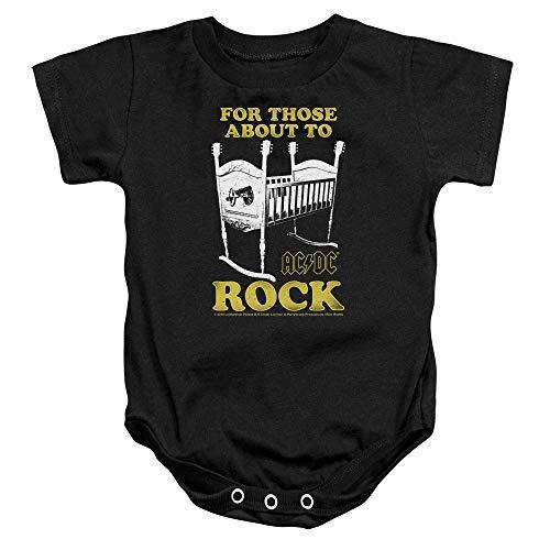 ACDC Cradle Rock Baby Onesie Bodysuit, 6 Months