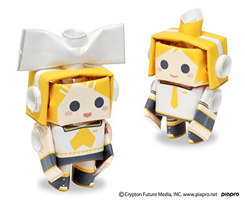 PIPEROID Hatsune Miku Series Rin & Len (Old Package) - Paper Craft Robot kit from Japan ()