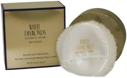 White Diamonds By Elizabeth Taylor For Women Body Powder Refill 5.3 Oz