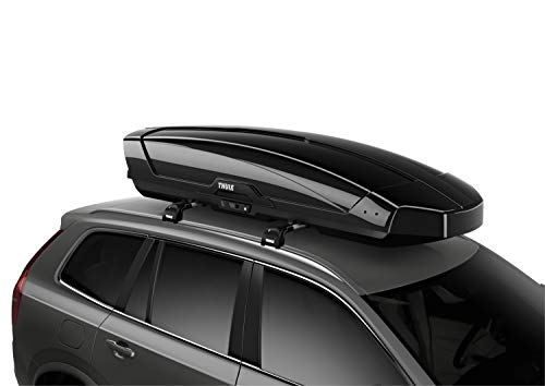 Thule Motion XT Rooftop Cargo Carrier, Black, XX-Large