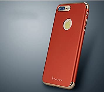 APPLE IPHONE 7 PLUS BACK COVER RED COLOR TPU CASE IPAKY Amazonin