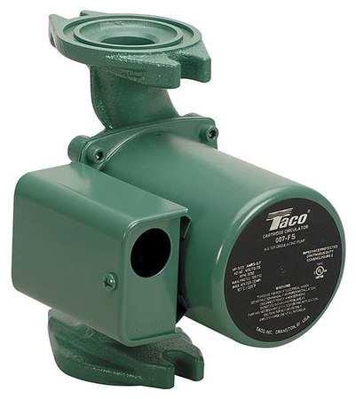 Taco 007-F5 Circulator Pump, 0-23 Gpm Flow Range, 1/25 hp, Cast ()