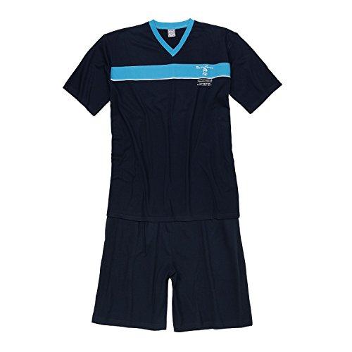 Dark fino Blue Set Pyjashort dimensioni 10xl in grandi a Adamo SqdOwS