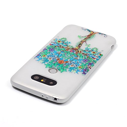 Samsung Galaxy S4 MiniCaso Funda,[Con Gratis Negro Kickstand] Keyye [Creativo luminoso duradero] Silicone Funda,Acuarela Imprenta Patrón [Anti-polvo] Exfoliante suave Transparente Delgado Gel TPU Piel Flores múltiples Árbol