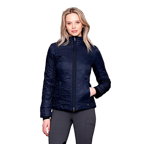 Noble Outfitters Warmup Quilted Jacket XS Navy