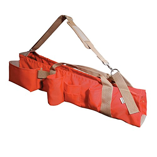 "SitePro 21-28102 38"" (97cm) Heavy Duty Lath Bag with Handles, Hi-Vis Orange"