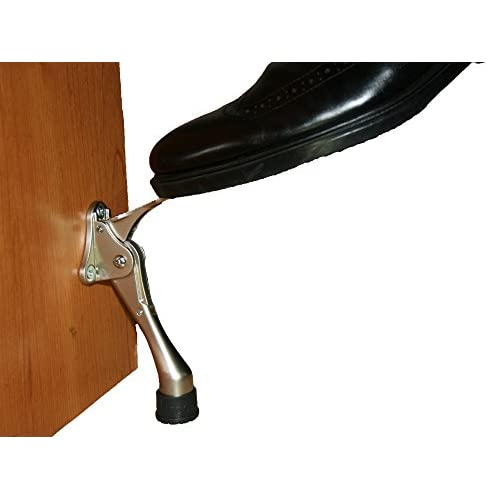 One Touch Semi Automatic Door Stop   4 Inch Door Stopper With A Height