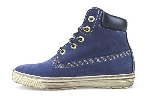 Chaussures Femmes KEYS Sneakers Bleu Cuir Daim AJ146