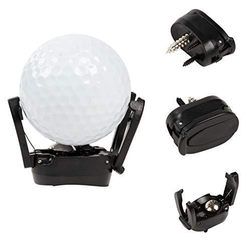 Juvale Golf Ball Pick Up Tool - 6-Pack Flip-Top Golf Ball Retriever - Nickel Putter