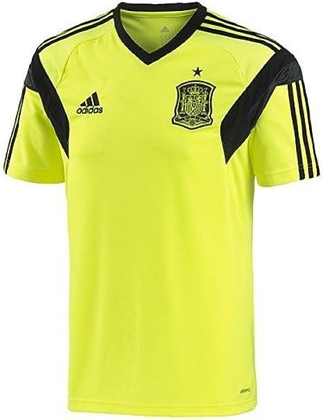 adidas España Camiseta Entrenamiento tee – Eléctrico/Negro – para ...