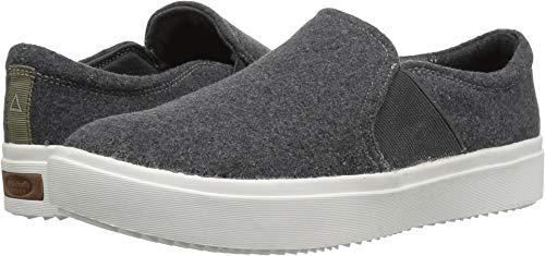 Dr. Scholl's Shoes Women's Wander Up Sneaker, Charcoal Grey Flannel, 9 M US (Dr Scholls Womens Madison Slip On Sneaker)