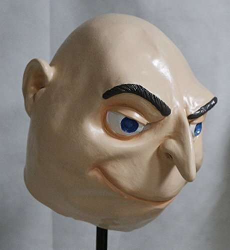 Felonius Gru Full Head Latex Mask Fancy Dress Halloween Despicable Me by Other -