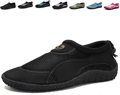 CIOR Men and Women Aqua Shoes Quick Drying Water Sports Shoes for Beach Pool Boating Swim Surf