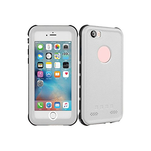 - For iPhone 6 water proof dirty proof shock proof 3 protect Case White color 4.7 inch Red pepper