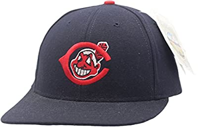 Vintage Cleveland Indians Cooperstown Collection Snapback Logo A100085