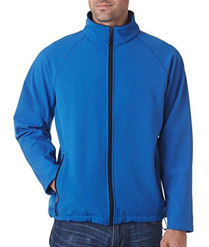8265 UltraClub Men's Soft Shell Jacket White cheap new styles LrR1fcJ