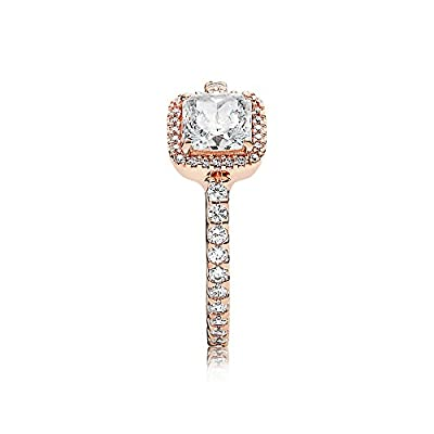 Pandora Timeless Elegance Ring, Pandora Rose, Clear CZ, 7 US, 180947CZ-54 from Pandora