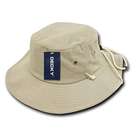 d64098a5425 Amazon.com  DECKY Aussie Plain Hat  Sports   Outdoors