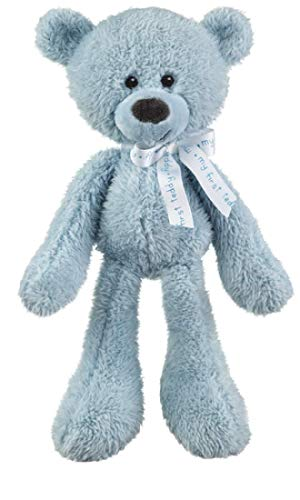 Ganz My First Teddy Bear ~ Perfect for Baby Shower or Gift (Blue)