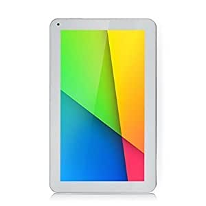 iRULU eXpro X1s - Tablet 10.1 pulgadas, Google Andorid 5.1 Lollipop, procesador de cuatro núcleos, 8GB Nand Flash, resolución 1024x600 HD, Color Blanco
