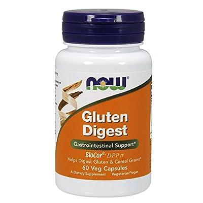 NOW Foods®gluten Digest - 60 Vcaps,digestive,fresh