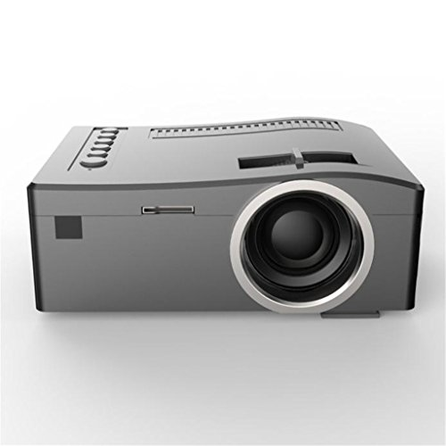 1080P LED Projector (Black/White) - 5