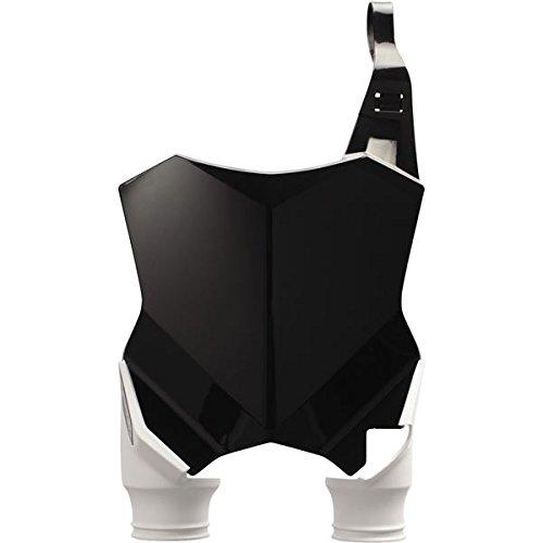 Acerbis 2527431007 Raptor Front Number Plate - Black/White