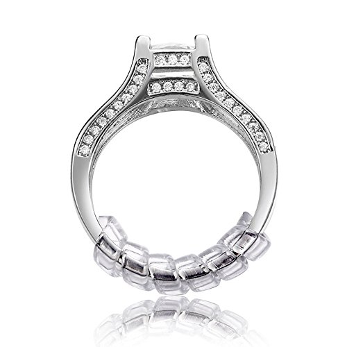 Price comparison product image Ring Size Adjuster with Silver Polishing Cloth Set of 2 Sizes (2mm / 3mm) Jewelry Tools