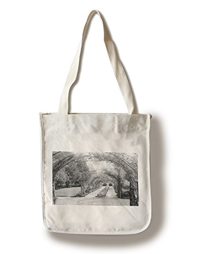 Lantern Press Tacoma, Washington - View of Rose Arch Point Defiance Park Photograph (100% Cotton Tote Bag - Reusable)