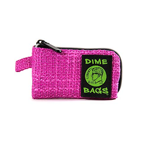 Padded Pouch - Soft Interior with Secure Heavy-Duty Zipper (5-Inch) (Magenta) ()