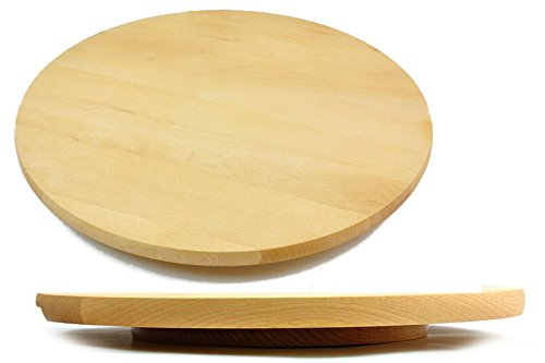Girante Board Lazy Susan Round circolare girevole in legno servire pizza torta 60/cm 61/cm