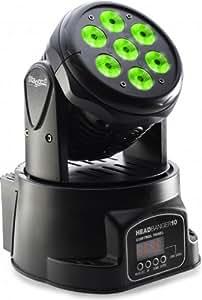 Stagg SLI MHW HB10-1 LED Headbanger Moving Head for Indoor Use - Black