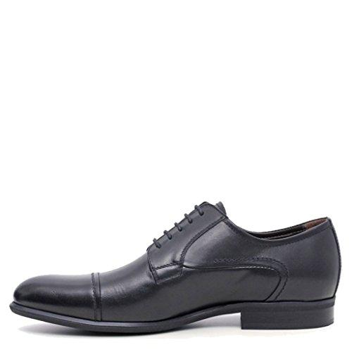 Nero Giardini Chaussures de ville à lacets pour homme Noir noir