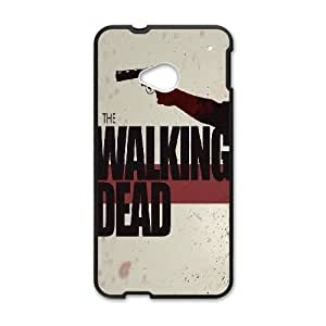 HTC One M7 Cell Phone Case Black The Walking Dead Poster Artwork B5X1KG