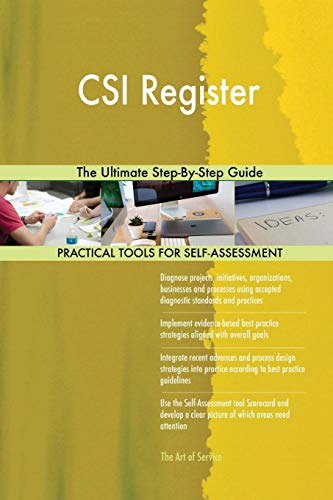 CSI Register The Ultimate Step-By-Step Guide (Csi Register)