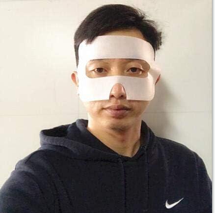 100 Pack Sanitary VR Mask Disposable Face Cover Mask Hygiene VR Pads Prevent Eye Infections for HTC Vive, PS VR, Gear VR Oculus Rift, etc. (White) 41L 2B1RrrrYL