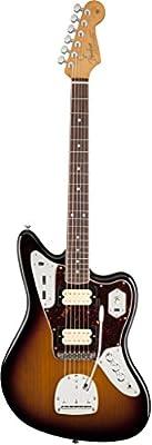 Fender Kurt Cobain Jaguar LH NOS 3 Tone Sunburst Solid-Body Electric Guitar from Fender Musical Instruments Corp.