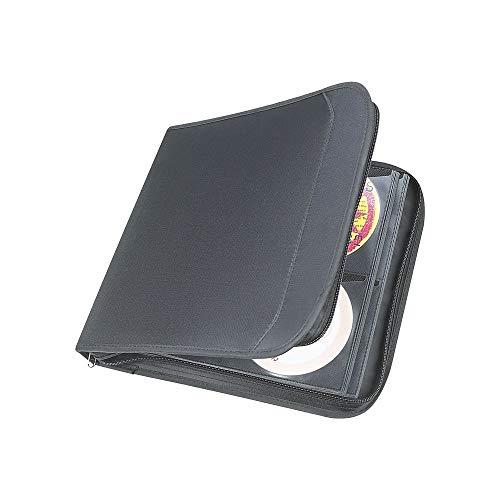 "Staples 486114 128 Cd Wallet Black 11.7"" X 12.4"" X 1.9"" (33311)"